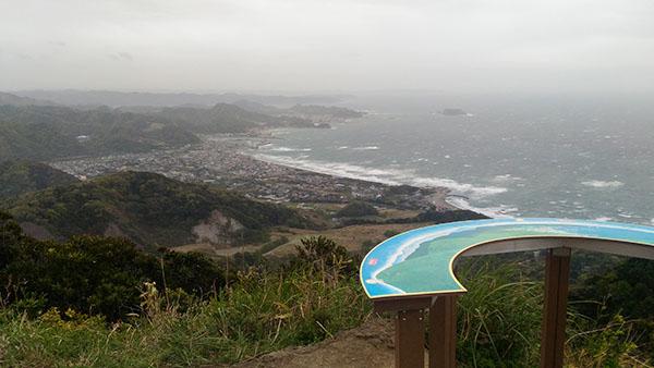 鋸山,東京湾を望む展望台,地球が丸く見える展望台
