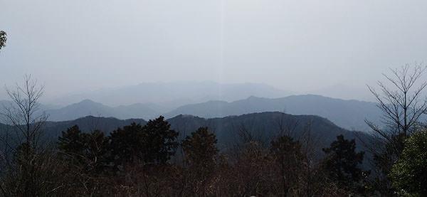 高尾山展望台